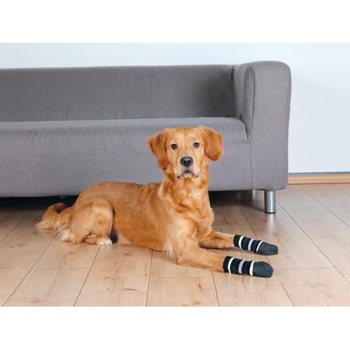 Hundesokker, sorte ekstra skridsikre