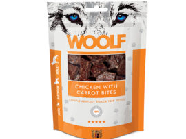 Woolf Chicken with Carrots Bites