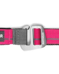 hundehjertet_ruffwear_flat_out_forer_line_pink_gra_stribe_til_hund