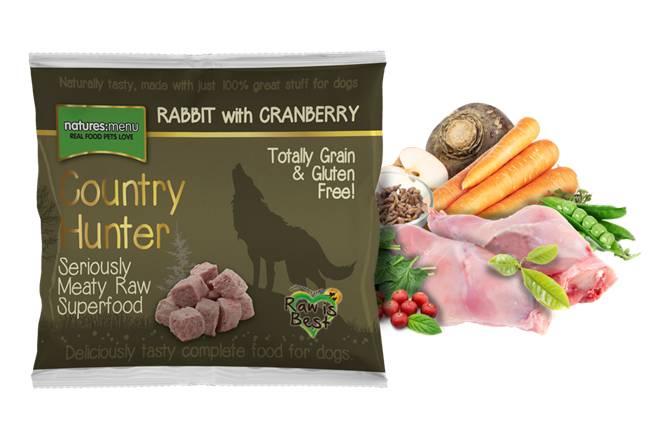 Natures menu nuggets, Country Hunter kanin