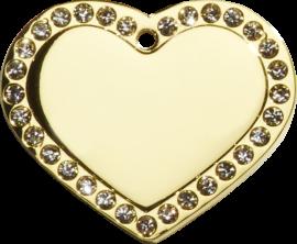 Hundetegn, Guld hjerte m/sten