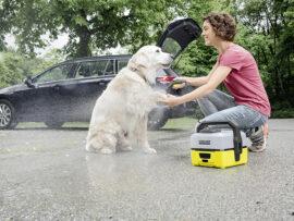 Kärcher Mobilvasker til hund