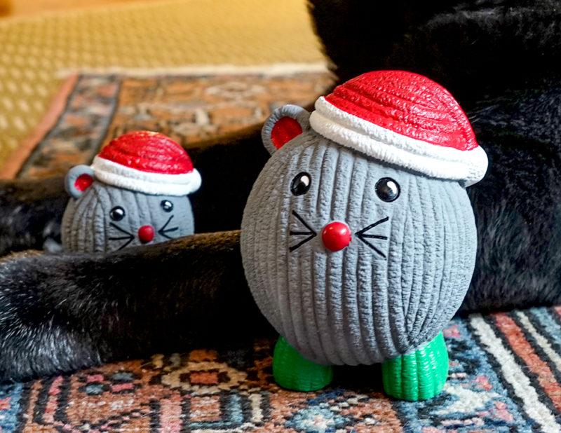 Hugglehounds Ruff-tex Santa Mouse