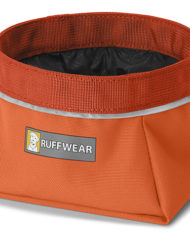 hundehjertet_ruffwear_quencher_skaal_orange_til_hund