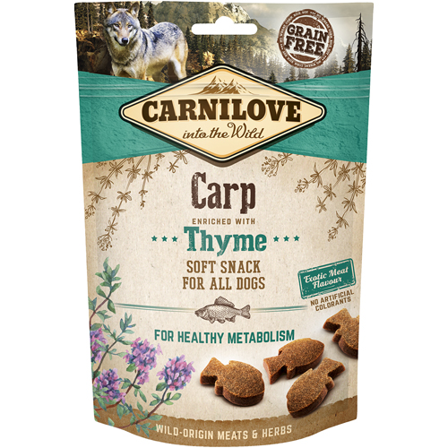 Carnilove Dog Semi moist Carp