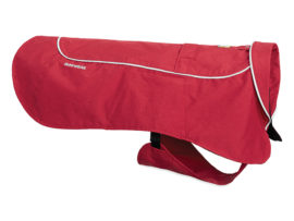 Ruffwear Aira regnfrakke rød