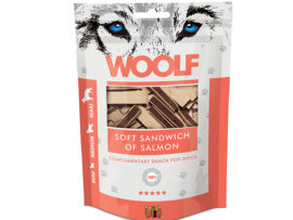 Woolf Soft Sandwich of Salmon
