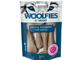 Woolfies Dental Fishbone Medium