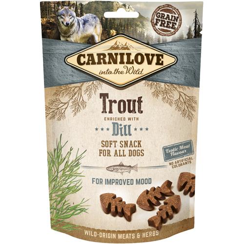 Carnilove Semi Moist Snack Trout