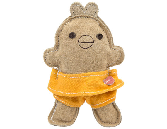 HuggleHounds Natural Leather Chick Big-Wee