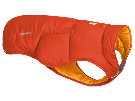 Ruffwear Quinzee Insulated Jacket, Sockeye Red