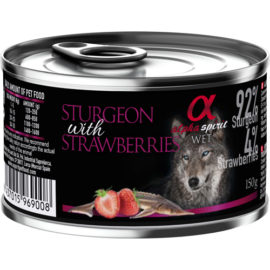Alpha Spirit vådfoder med stør og jordbær