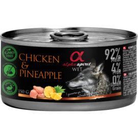 Alpha Spirit vådfoder med kylling og ananas