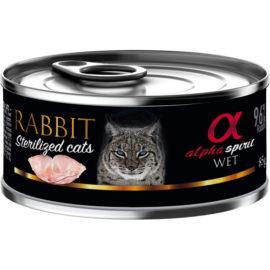 Alpha Spirit vådfoder til steriliserede katte