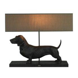Lampe Brun gravhund