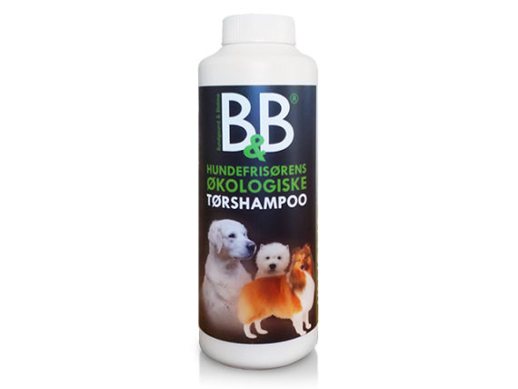 B&B Tørshampoo til hund
