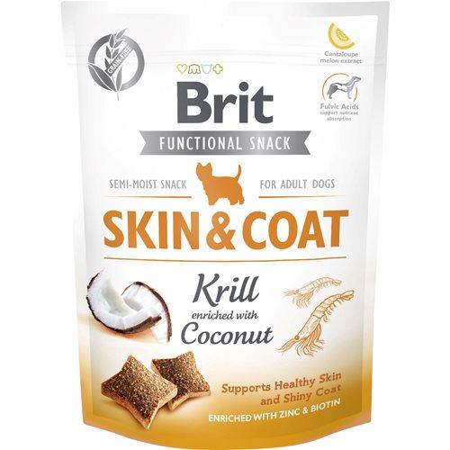 Brit Care Functional Snack Skin + Coat Krill