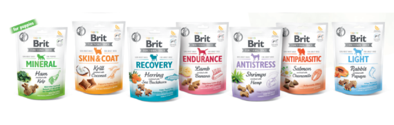 Brit Care Functional Snack, 3 poser