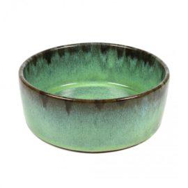 Keramik Hundeskål, Jasper Green