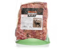 Bella's Favorit Barf Hjort, 500 g.