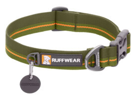 Ruffwear FlatOut halsbånd, Grøn