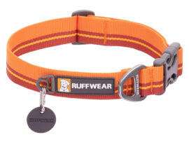 Ruffwear FlatOut halsbånd, Orange