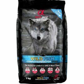 Alpha Spirit Komplet Semi-Moist Hundefoder med fisk 3 kg.