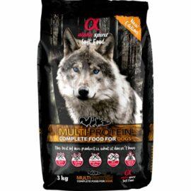 Alpha Spirit Komplet Semi-Moist Hundefoder Multiprotein 3 kg.