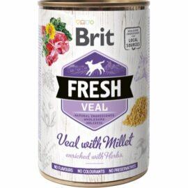 Brit Fresh Vådfoder med Kalv og Hirse