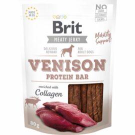 Brit Jerkey Protein Bar til Hund med Vildt