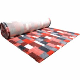 Vet Bed Tæppe til Hund Patchwork Rød